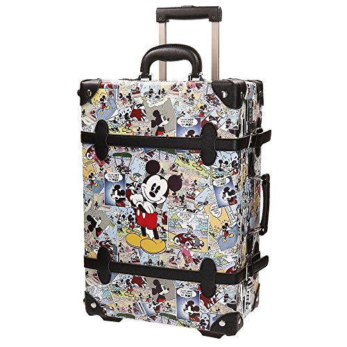 Disney Mickey Comic Bagaglio a Mano, ABS, Multicolore, 53 cm