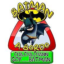 Pegatina Batman a bordo superhéroe DC Comics