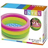 Intex Inflatable Baby Pool Inflatable Pool (Multicolor)