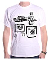 Inspired by Talking Heads T Shirt by Old Skool Hooligans - Same As It Ever Was