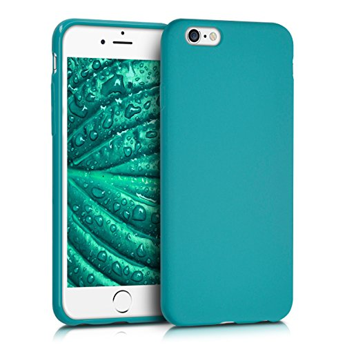 kwmobile-chic-tpu-silicone-case-per-apple-iphone-6-6s-in-petrolio-opaco