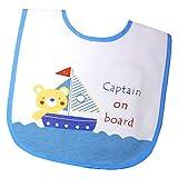 Tollyjoy Captain on Board Velcro Bib (Mu...
