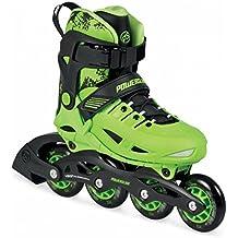 Powerslide Phuzion Universe ajustables para niños de patines en línea verde (verde negro) verde y negro Talla:29-32