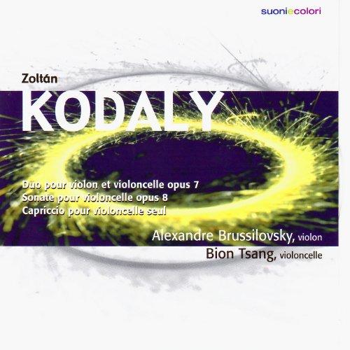 Kodály: Duo pour Violon et Violoncelle, Sonate pour violoncelle, Capriccio