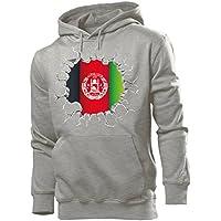 love-all-my-shirts Fussball Fanhoodie Afghanistan Männer Herren Hoodie Pulli Kapuzen Pullover Fanartikel