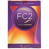 Femidom FC2 Frauen Kondome - 3 Stück Kartonverpackung - Latexfrei preisvergleich bei billige-tabletten.eu