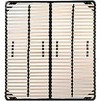 i-flair® Lattenrost 180x200 cm, Lattenrahmen für alle Matratzen geeignet - alle Größen