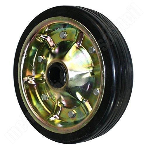 AL-KO Ersatzrad 649238-260x65mm Vollgummi 800kg für ALKO Stützrad 1 366 155