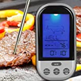 Best GENERIC Outdoor Thermometers - Generic Outdoor Wireless Remote Control Food Meat Thermometer Review