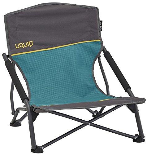 Uquip Strandstuhl Sandy - Bequemer Klappstuhl mit Traglast bis 120 kg (Leichte, Tragbare Stühle)