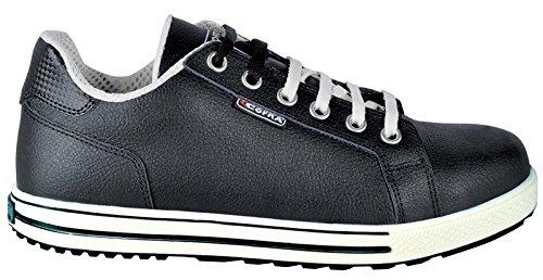 Cofra Sicherheitsschuhe Throw S3 SRC Old Glories im Sneaker-Look, Größe 43, schwarz, 35070-003