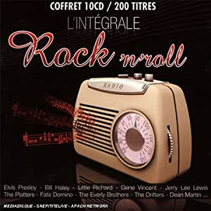 Coffret 10 CD L'Intégrale : Rock'N Roll
