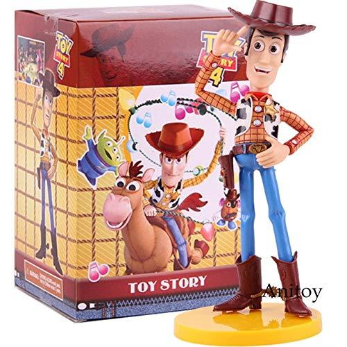 Sheriff Woody Toy Story 4 PVC Actionfigur Sammlermodell Spielzeug, B mit Box (Toy Dekorationen Kuchen Story)