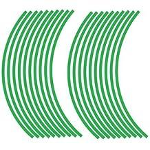 Pegatinas de llanta de rueda para tu Bicicleta, MTB, Downhill, Freeride, Suciedad, Fully, Hardtail, etc. - Green