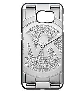 Galaxy S6 Edge Plus Coque Etui Case MK (Michael Kors) Luxury Brand Logo - Samsung Galaxy S6 Edge Plus Customised Coque Etui Case for Men - Hard Protecteur Protector Coque Etui Case, (Not Fit for Galaxy S6 / S6 Edge) (Not Fit Galaxy S6 / S6 Edge)