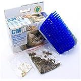 super-bab 12.7* 8,5* 4,7cm Pet Products für Katzen Bürste Kamm Ecke Massage Maschine Selbst Groomer Kamm Bürste mit Katzenminze
