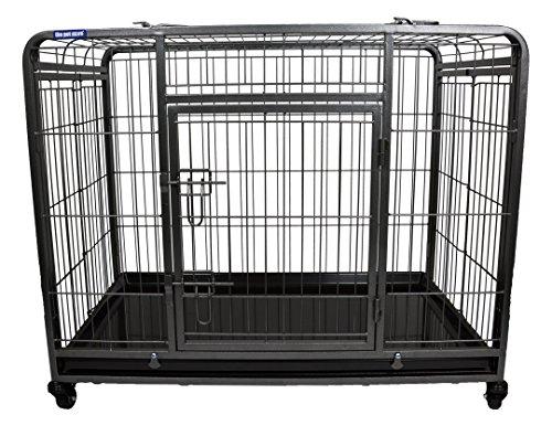Pet Store Premium Hunde Box mit verriegelbarer, Abnehmbarer Nylon Rollen, Medium