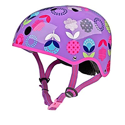 Micro Scooters Safety Helmet Floral Dot For Boys And Girls Cycling Bike from Micro Scooters