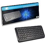 CiT WK-738 Premium Mini USB Keyboard - Black