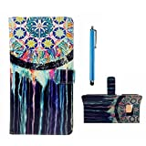 MUTOUREN LG G3 Mini slim flip protection skin cover Wallet PU Leather case flip wallet slim case Magnetic Flip card holder anti-shock scratch resistant Wallet Case +stylus accessories pen-Appolo