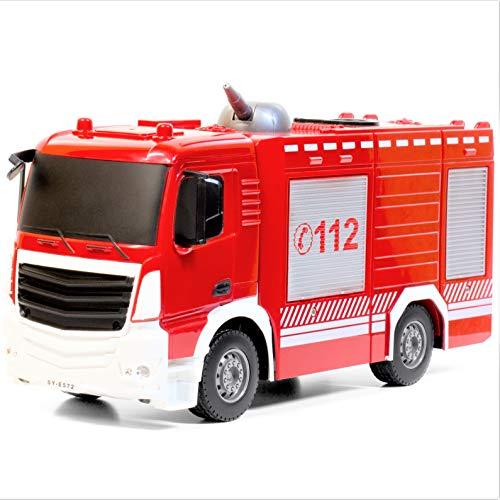 RC Auto kaufen Feuerwehr Bild 4: RAYLINE RC Feuerwehr Auto Car Ferngesteuerte Bus E572-003 Löschfahrzeug mit Wasserpumpe*