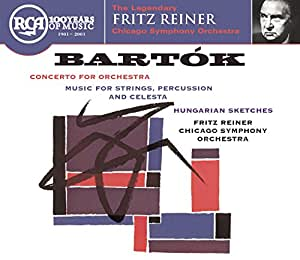 Bartok: Concerto for Orchestra, Music for Strings, Percussion & celesta, Hungarian Sketches