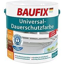 BAUFIX Universal Dauerschutzfarbe Dunkelgrau