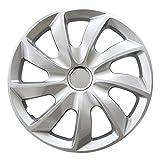 (Größe wählbar) 16 Zoll Radkappen / Radzierblenden STICK (Silber) passend für fast alle Fahrzeugtypen – universal