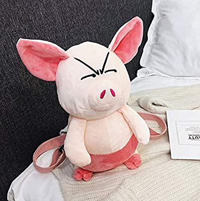 WYBL Juguete De Felpa Relleno Animal De Dibujos Animados Enojado Cerdo Mochila Bolso Bolso Paquete de WYBL