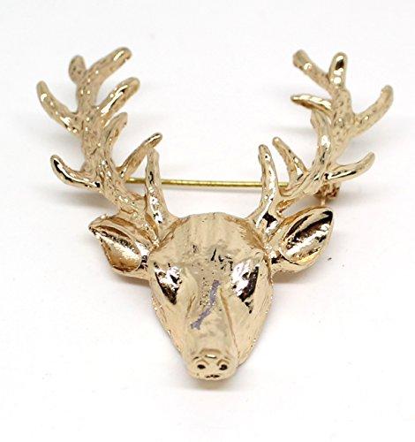 trophee-de-chasse-tete-de-cerf-broche-dore-costume-bijoux