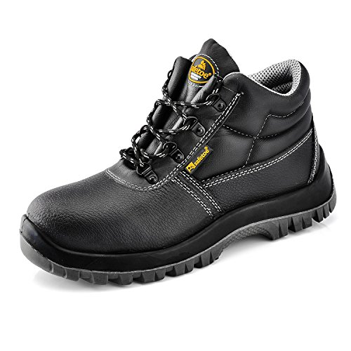 bd15090d4775 Safetoe Extra Wide Fit Mens Safety Boots Light Weight Women With Steel.