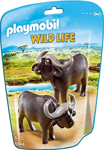 Playmobil Vida Salvaje - Animales, Búfalos, Multicolor (Playmobil, 6944)