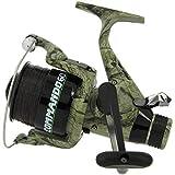 Karpfenangeln Camo Lineaeffe Commando 60Köder Läufer Spule gratis + Ersatzspule