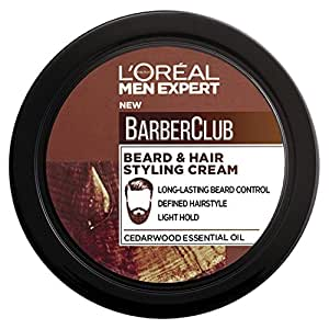 l 39 oreal men expert barber club beard hair styling cream. Black Bedroom Furniture Sets. Home Design Ideas