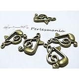 4 pieces note de musique BR ref 2D1613