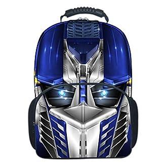 51SQ90iDFnL. SS324  - Transformers Mochila Escolar Para Niños Adolescentes Ligeros Mochilas Para Niños Y Niñas Bolsas Escolares De 8-15 Años