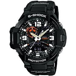 Casio Reloj Analógico de Cuarzo para Hombre con Correa de Resina – GA-1000-1AER