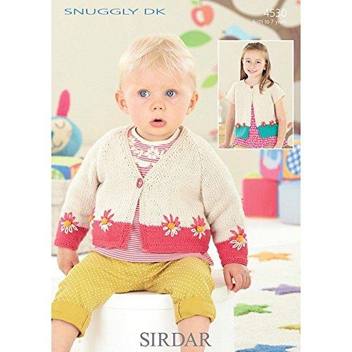 Sirdar Baby Strickjacken Muster 4530DK -