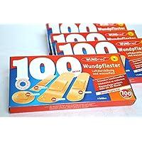 Wundpflaster 10 x 100 = 1000 Stück Pflaster Set preisvergleich bei billige-tabletten.eu