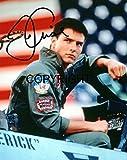Photo de Tom Cruise dans Top Gun avec autographe imprimé certifié (édition limitée)