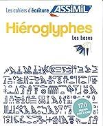 Cahier Écriture Hieroglyphes de Jean-Pierre Guglielmi