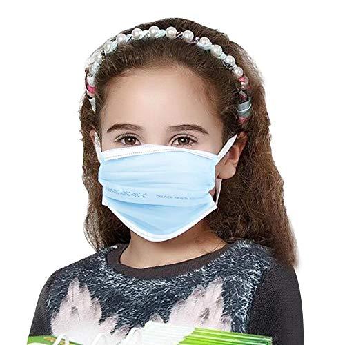 Kinder Einwegmaske Staubdicht Atmungs Mund Maske Universal ungiftig Sicherheitsmasken (20 Count)