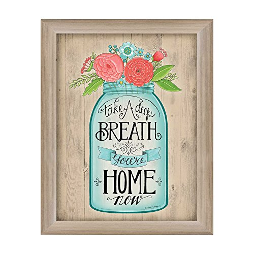 Trendy decor4u ds1098 - 636 ml You are at home now framed print