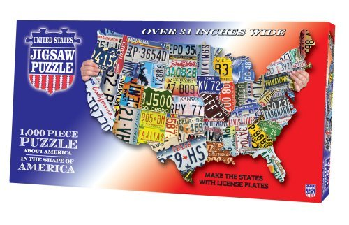 tdc-games-usa-shaped-state-license-plates-puzzle-by-tdc-games