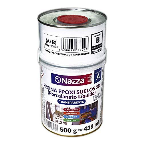 Porcelanato Líquido Nazza - Resina Epoxi 3D Autonivelante