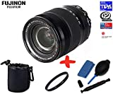 Bundle Fujifilm XF-18-135mm f3.5-f5.6 WR OIS + 67mm UV Lens Filter + Lens Pouch + Lens Cleaning Kit (suitable for X-Pro2 XPro2 X-A1 XA1 X-A2 XA2 X-E1 XE1 X-E2 XE2 X-M2 XM2 X-T1 XT1 X-T10 XT10)