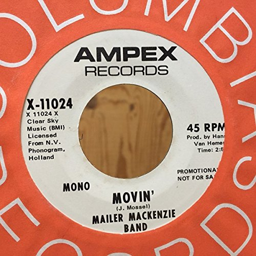 Movin' [Vinyl Single 7''] (Vinyl Mailer Record)