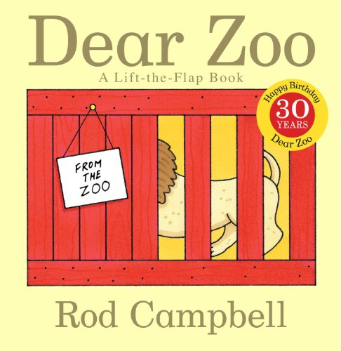 Dear Zoo: A Lift-The-Flap Book (Dear Zoo & Friends) por Rod Campbell