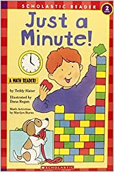 Just a Minute! (Hello Reader! Math Level 2) by Teddy Slater (1996-08-05)