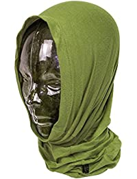 Highlander Camo Military Headover can be used as a hat, balaclava or scarf